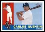 2009 Topps Heritage #365  Carlos Quentin  Front Thumbnail