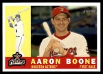 2009 Topps Heritage #297  Aaron Boone  Front Thumbnail