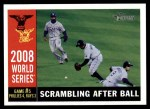 2009 Topps Heritage #390   -  B.J. Upton World Series Front Thumbnail