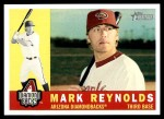 2009 Topps Heritage #231  Mark Reynolds  Front Thumbnail