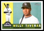 2009 Topps Heritage #359  Willy Taveras  Front Thumbnail