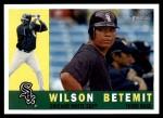 2009 Topps Heritage #316  Wilson Betemit  Front Thumbnail