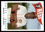 2009 Topps Heritage #213  Dusty Baker  Front Thumbnail