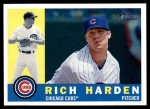 2009 Topps Heritage #398  Rich Harden  Front Thumbnail