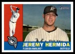 2009 Topps Heritage #269  Jeremy Hermida  Front Thumbnail
