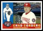 2009 Topps Heritage #392  Chad Cordero  Front Thumbnail