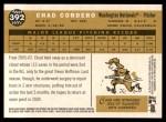 2009 Topps Heritage #392  Chad Cordero  Back Thumbnail