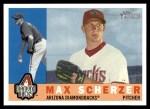 2009 Topps Heritage #284  Max Scherzer  Front Thumbnail