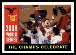 2009 Topps Heritage #391   -  World Series - The Champs Celebrate World Series Front Thumbnail