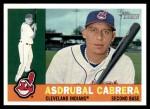 2009 Topps Heritage #342  Asdrubal Cabrera  Front Thumbnail