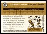 2009 Topps Heritage #342  Asdrubal Cabrera  Back Thumbnail