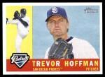 2009 Topps Heritage #244  Trevor Hoffman  Front Thumbnail