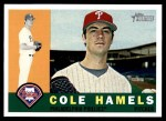 2009 Topps Heritage #264  Cole Hamels  Front Thumbnail