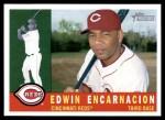 2009 Topps Heritage #329  Edwin Encarnacion  Front Thumbnail