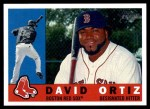 2009 Topps Heritage #332  David Ortiz  Front Thumbnail