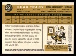 2009 Topps Heritage #201  Chad Tracy  Back Thumbnail