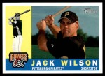 2009 Topps Heritage #258  Jack Wilson  Front Thumbnail
