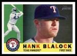 2009 Topps Heritage #267  Hank Blalock  Front Thumbnail