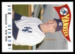 2009 Topps Heritage #217  Joe Girardi  Front Thumbnail