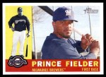 2009 Topps Heritage #380  Prince Fielder  Front Thumbnail
