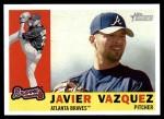 2009 Topps Heritage #350  Javier Vazquez  Front Thumbnail