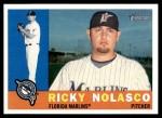 2009 Topps Heritage #266  Ricky Nolasco  Front Thumbnail