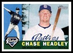 2009 Topps Heritage #285  Chase Headley  Front Thumbnail