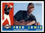 2009 Topps Heritage #346  Fred Lewis  Front Thumbnail