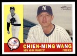 2009 Topps Heritage #270  Chien-Ming Wang  Front Thumbnail