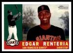 2009 Topps Heritage #314  Edgar Renteria  Front Thumbnail