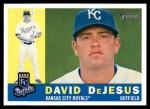 2009 Topps Heritage #367  David DeJesus  Front Thumbnail
