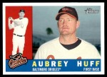 2009 Topps Heritage #207  Aubrey Huff  Front Thumbnail