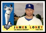 2009 Topps Heritage #394  James Loney  Front Thumbnail
