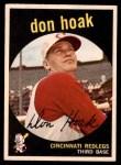 1959 Topps #25  Don Hoak  Front Thumbnail