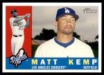 2009 Topps Heritage #422  Matt Kemp  Front Thumbnail