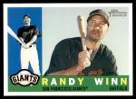 2009 Topps Heritage #407  Randy Winn  Front Thumbnail