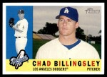 2009 Topps Heritage #425  Chad Billingsley  Front Thumbnail