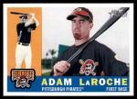 2009 Topps Heritage #402  Adam LaRoche  Front Thumbnail