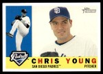 2009 Topps Heritage #404  Chris Young  Front Thumbnail
