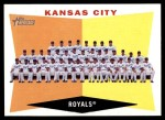 2009 Topps Heritage #413   Royals Team Checklist Front Thumbnail