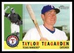 2009 Topps Heritage #403  Taylor Teagarden  Front Thumbnail