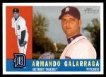 2009 Topps Heritage #418  Armando Galarraga  Front Thumbnail