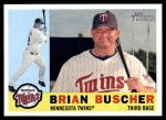 2009 Topps Heritage #423  Brian Buscher  Front Thumbnail