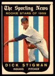 1959 Topps #142  Dick Stigman  Front Thumbnail