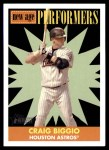 2007 Topps Heritage New Age Performers #15 NAP Craig Biggio  Front Thumbnail