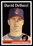 2007 Topps Heritage #171  David Dellucci  Front Thumbnail