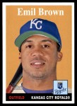 2007 Topps Heritage #69  Emil Brown  Front Thumbnail