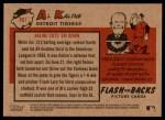 2007 Topps Heritage Flashbacks #1 F Al Kaline  Back Thumbnail