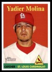 2007 Topps Heritage #24 YN Yadier Molina   Front Thumbnail