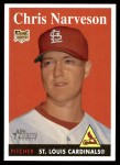 2007 Topps Heritage #65 WN Chris Narveson   Front Thumbnail
